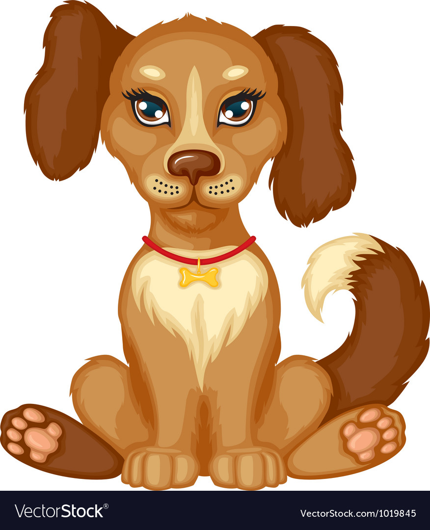 Spot dog vector | Price: 3 Credit (USD $3)