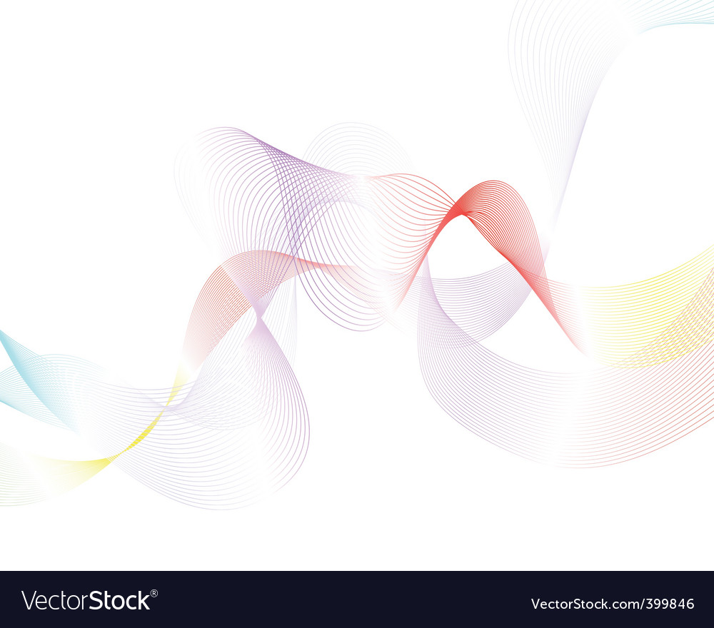 Colourful lines vector | Price: 1 Credit (USD $1)