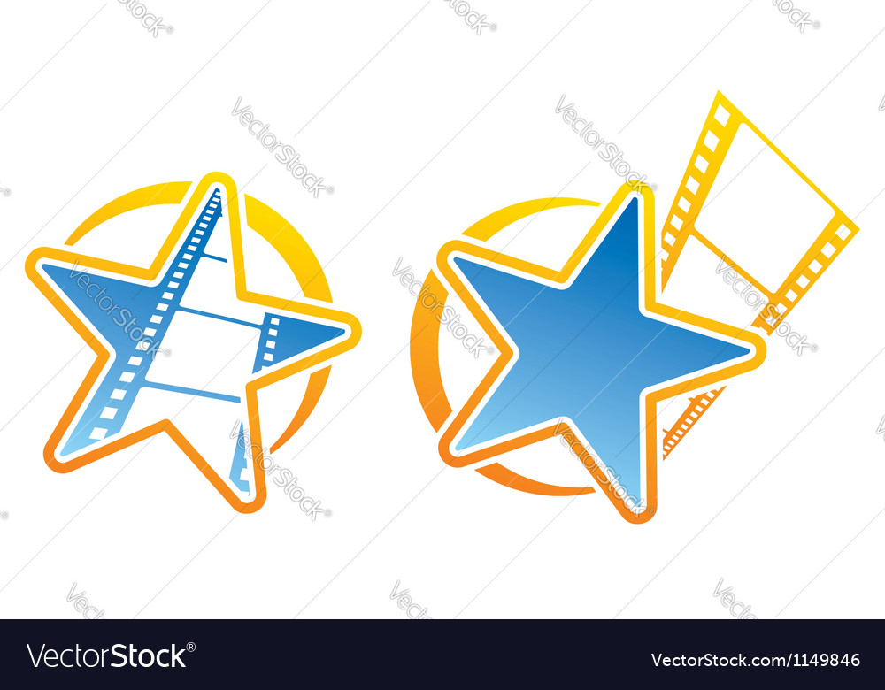 Film icons vector | Price: 1 Credit (USD $1)