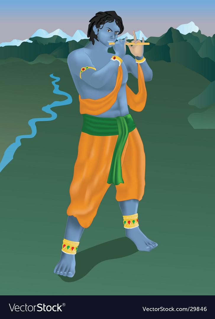 Krishna vector | Price: 3 Credit (USD $3)