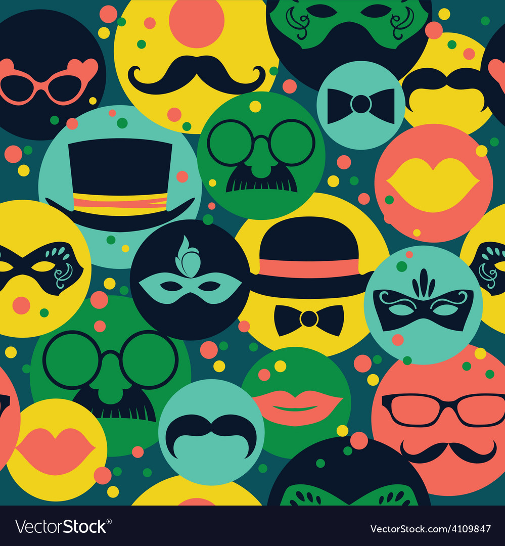 Celebration festive seamless background with vector | Price: 1 Credit (USD $1)