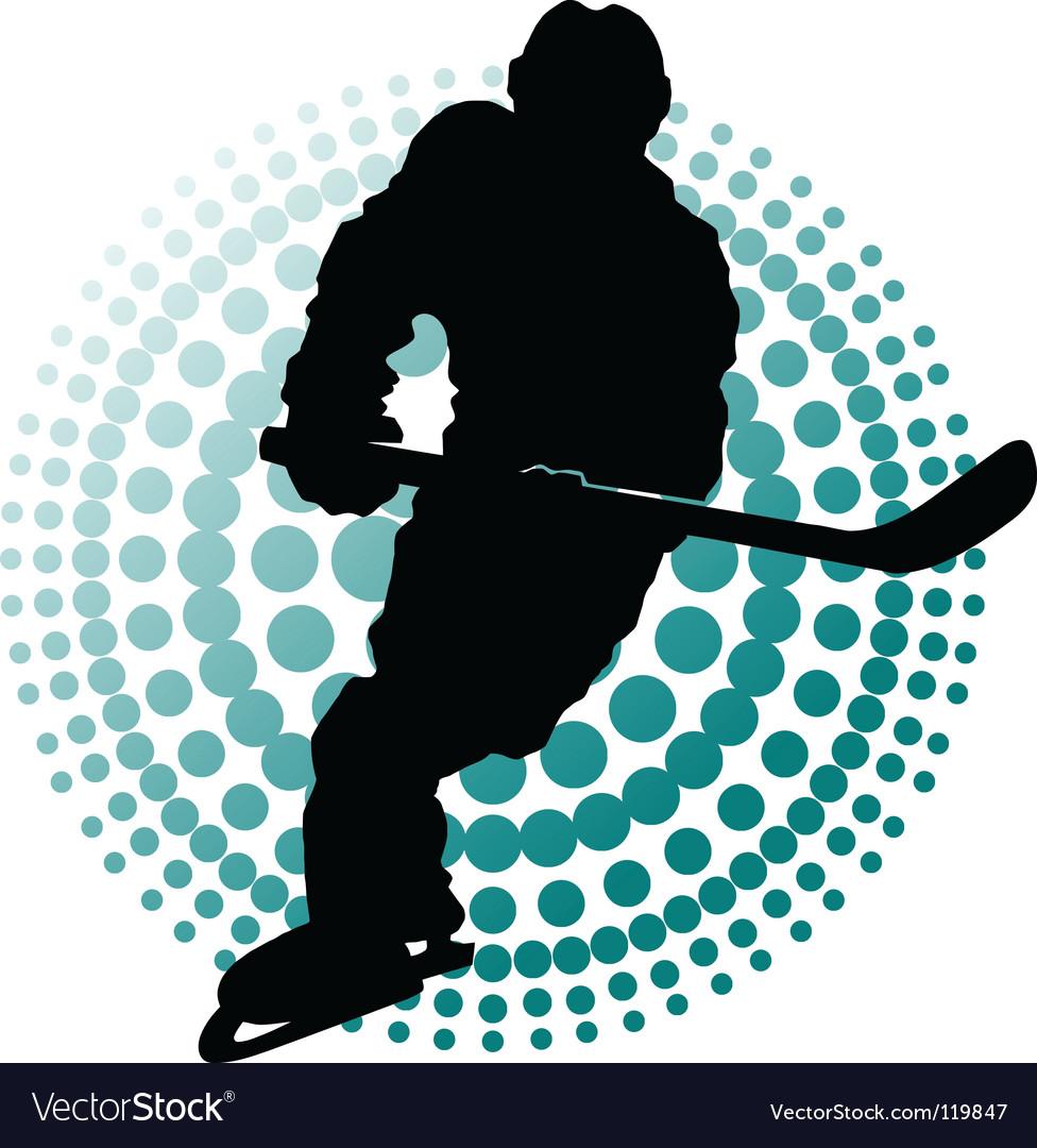 Hockey players vector | Price: 1 Credit (USD $1)
