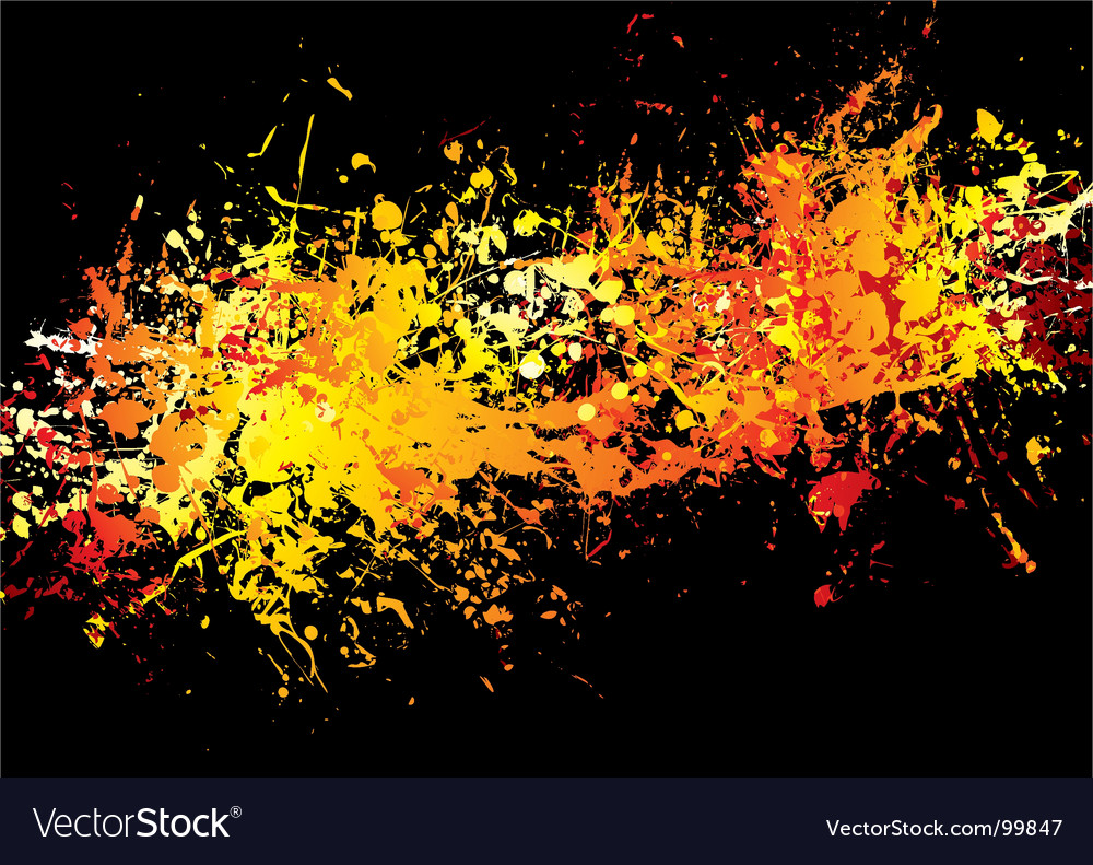Ink crash hot vector | Price: 1 Credit (USD $1)