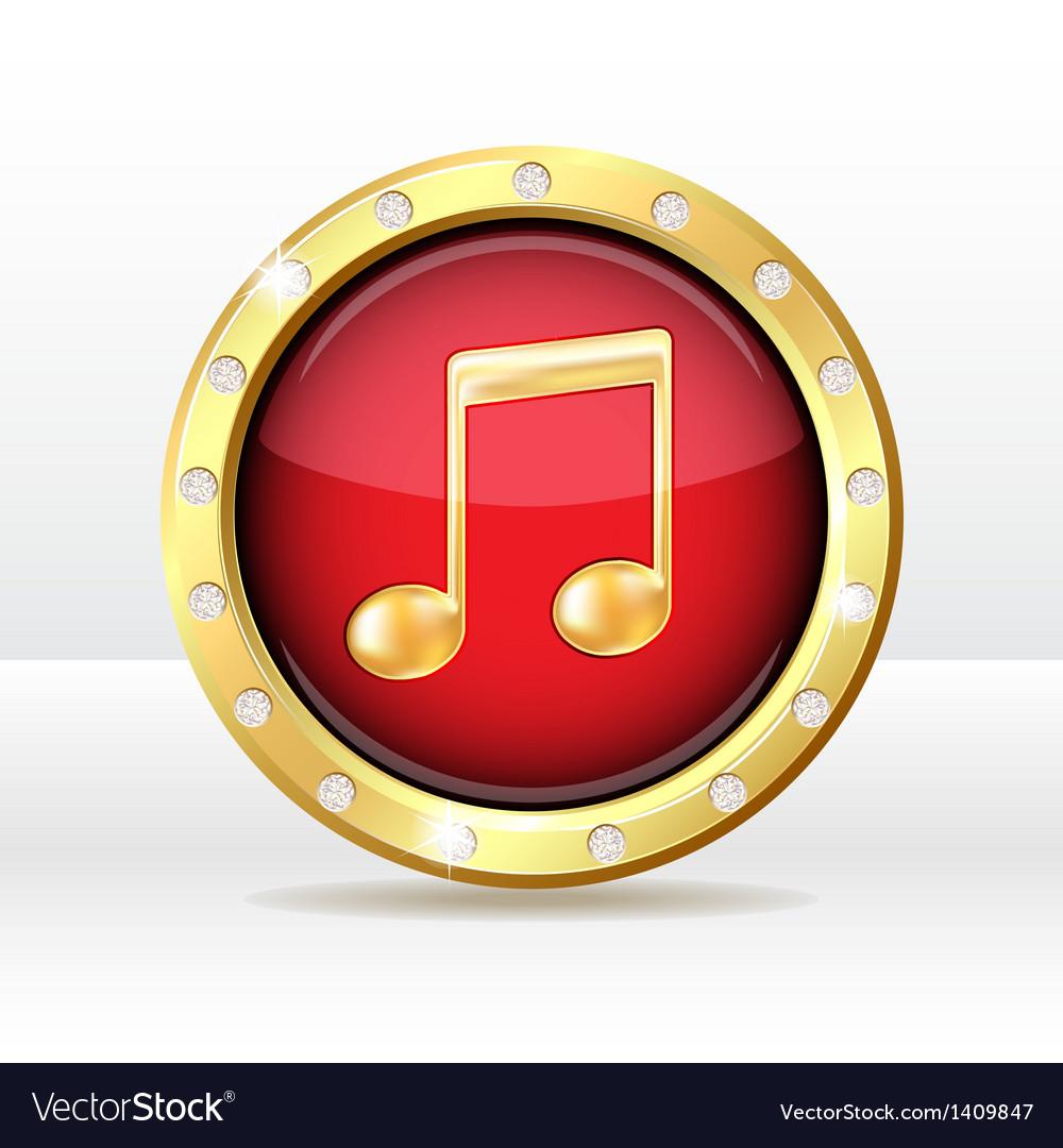 Music icon vector   Price: 1 Credit (USD $1)