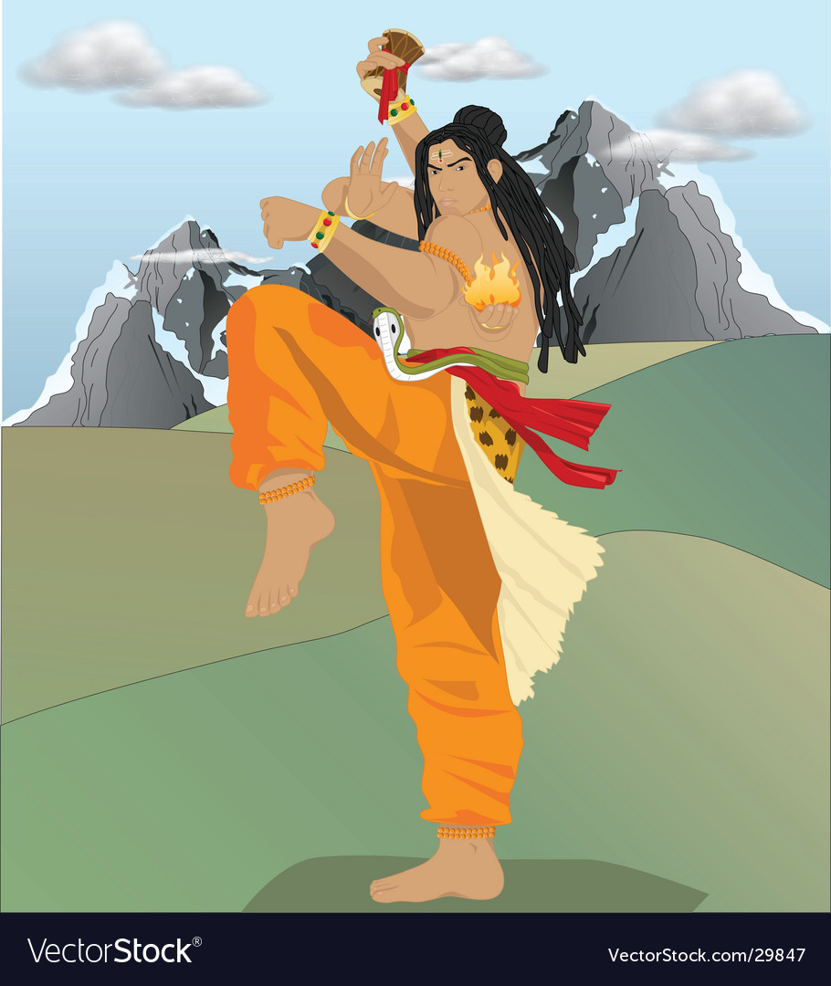 Shiva the destroyer vector | Price: 3 Credit (USD $3)