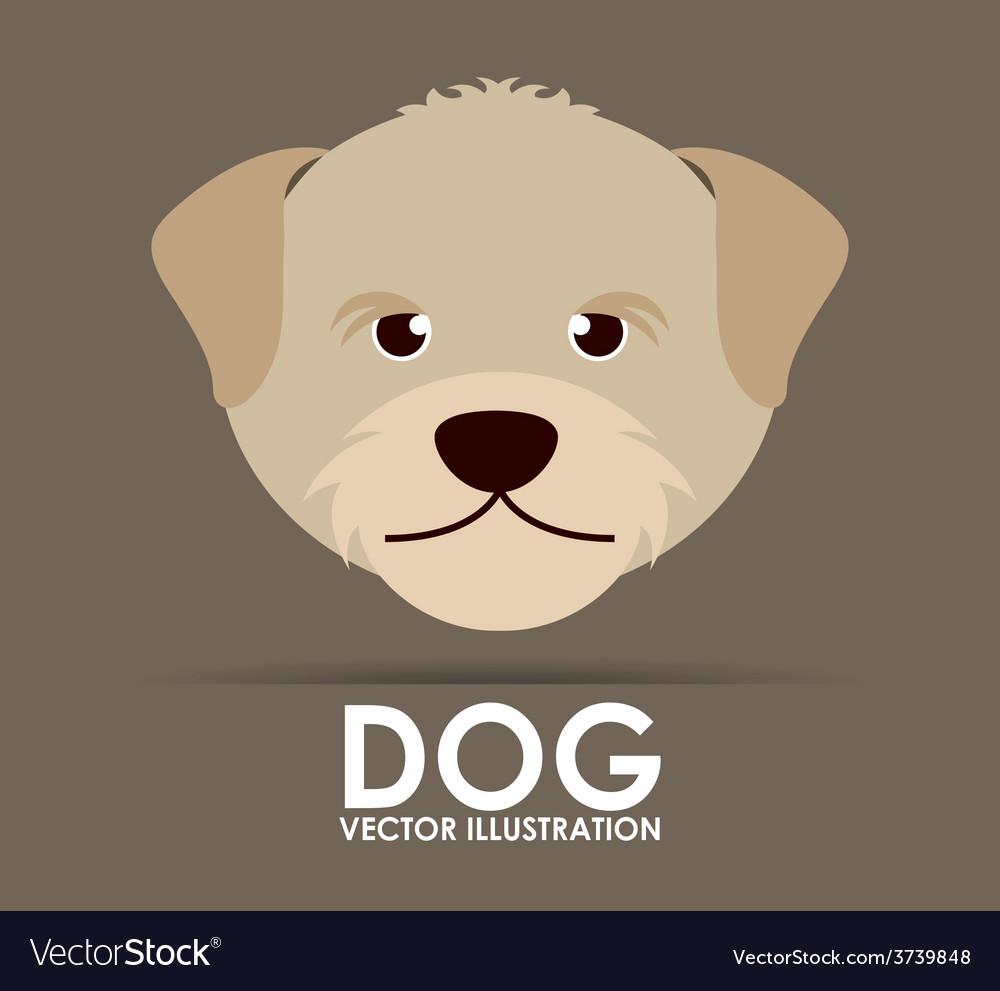 Cute dog design vector | Price: 1 Credit (USD $1)
