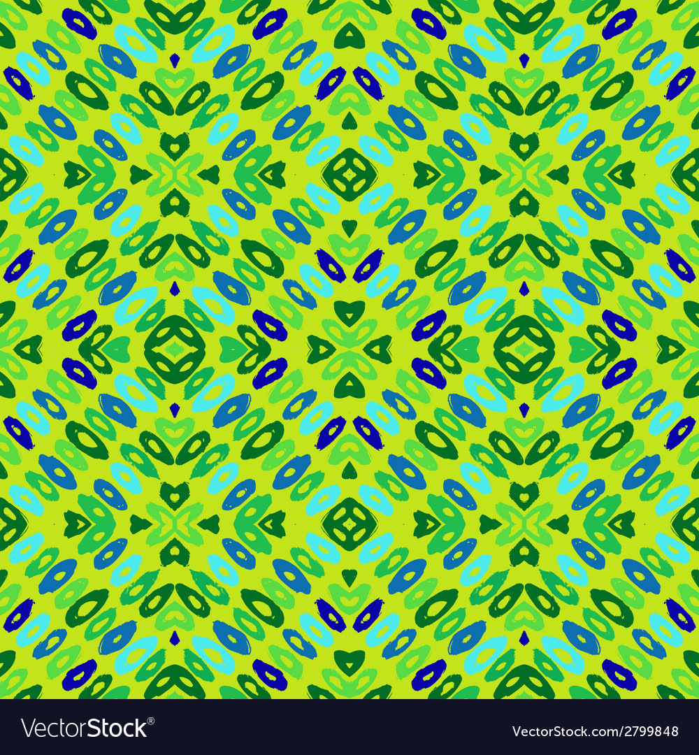 Hand drawn colorful geometric pattern vector | Price: 1 Credit (USD $1)