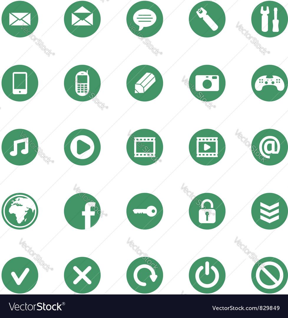 25 icons set vector | Price: 1 Credit (USD $1)