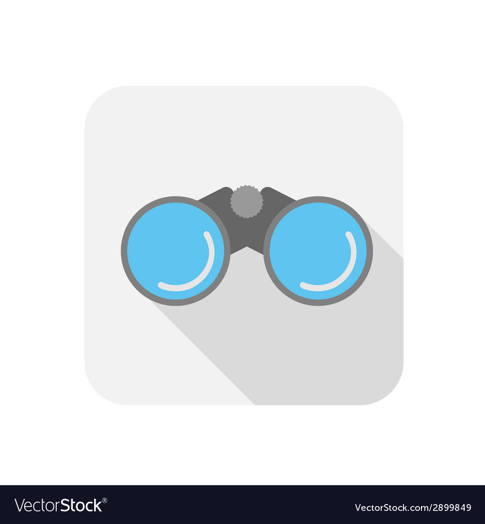 Binocular icon vector | Price: 1 Credit (USD $1)