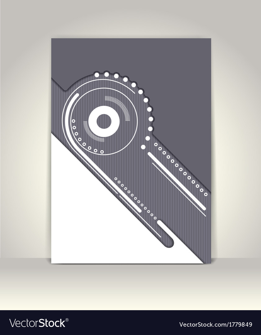 Flyer or brochure template abstract design vector   Price: 1 Credit (USD $1)