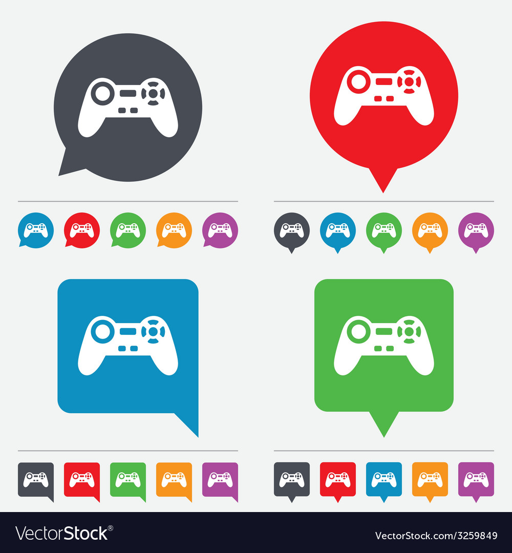 Joystick sign icon video game symbol vector | Price: 1 Credit (USD $1)