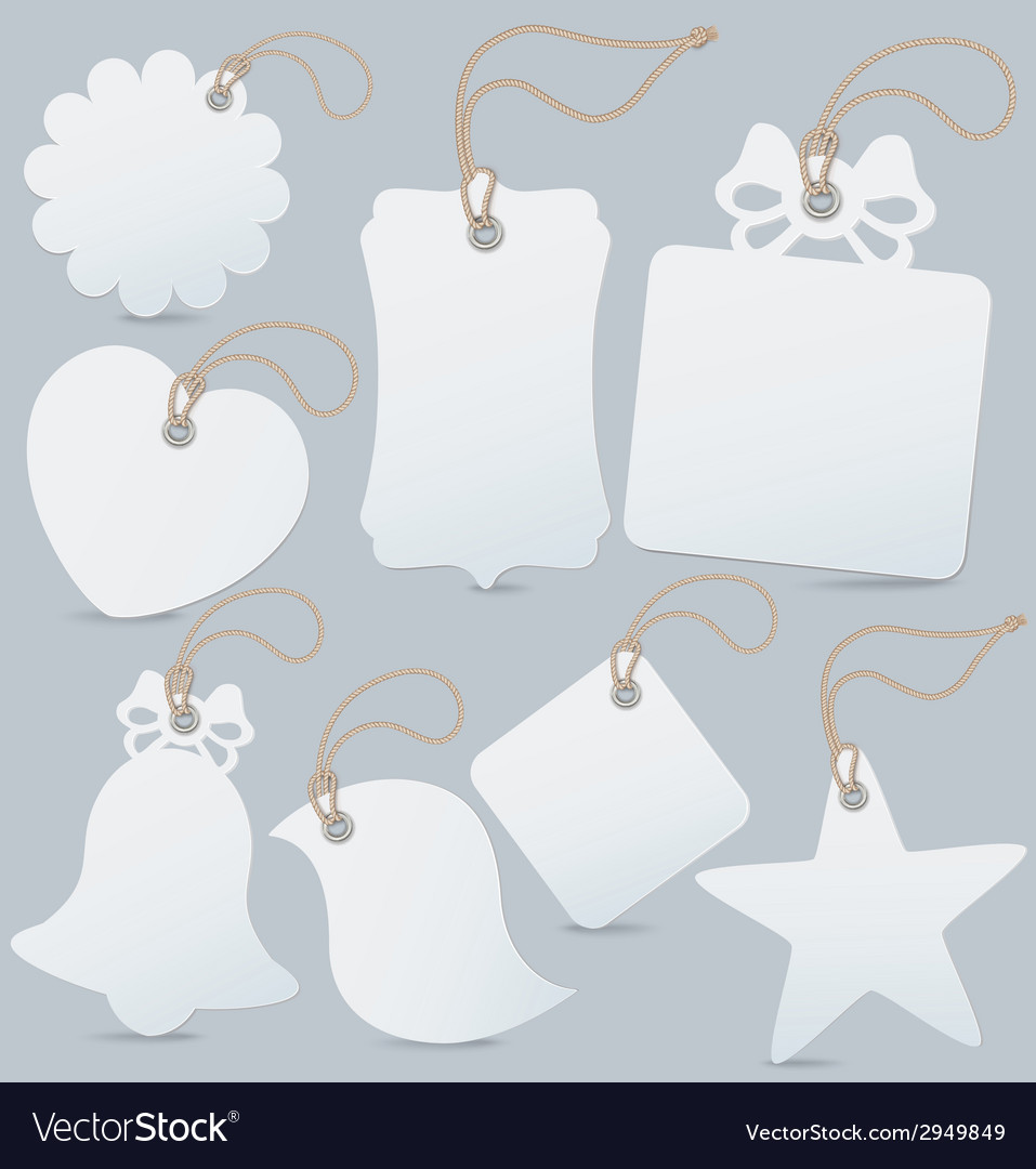 Set of label tag vector | Price: 1 Credit (USD $1)