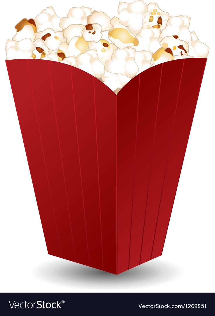 Popcorn vector | Price: 1 Credit (USD $1)
