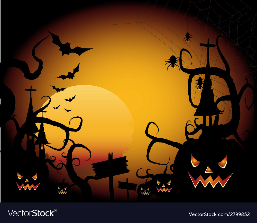Halloween 2 vector | Price: 1 Credit (USD $1)