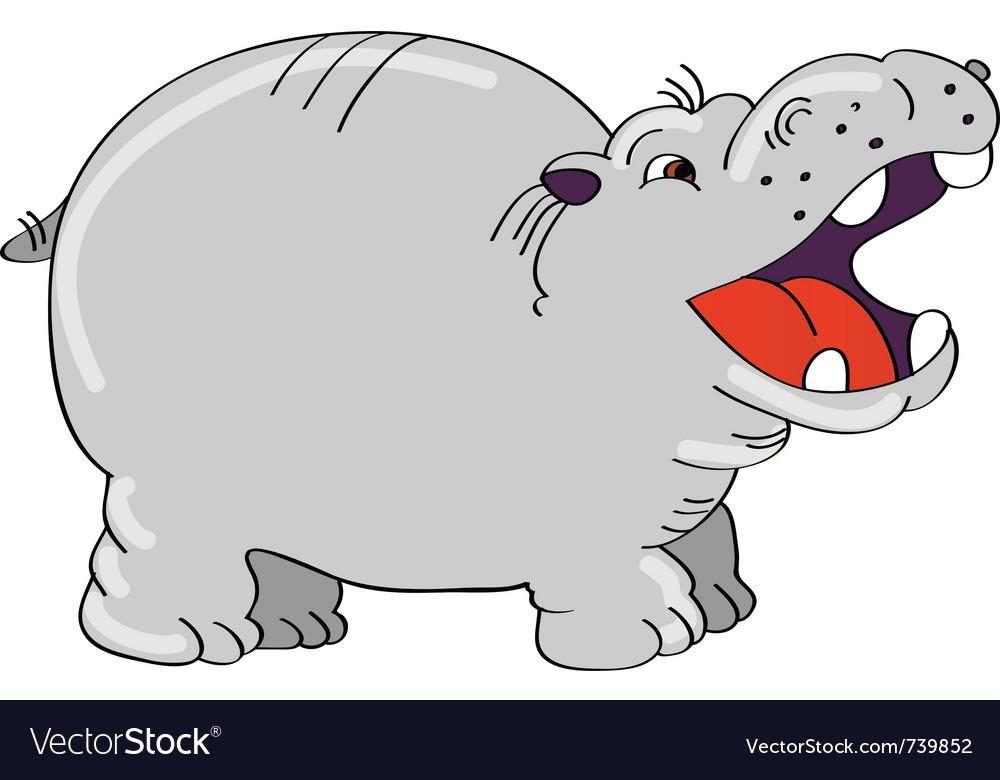 Hippo vector | Price: 3 Credit (USD $3)