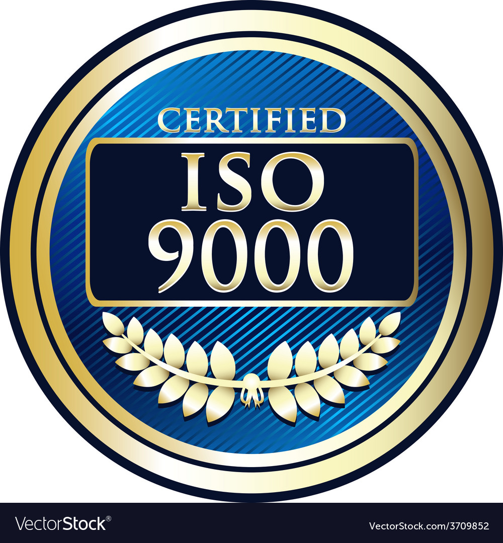 Iso 9000 vector | Price: 1 Credit (USD $1)
