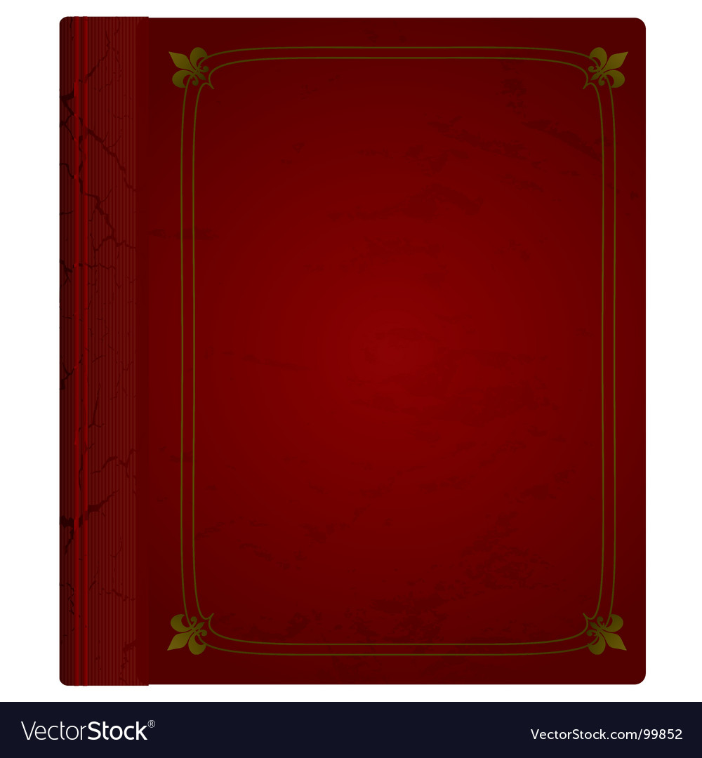 Leather book vector | Price: 1 Credit (USD $1)