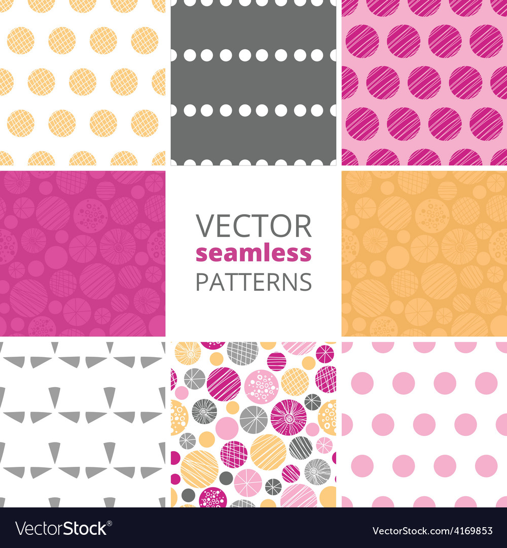 Abstract textured bubbles set of eight vector | Price: 1 Credit (USD $1)