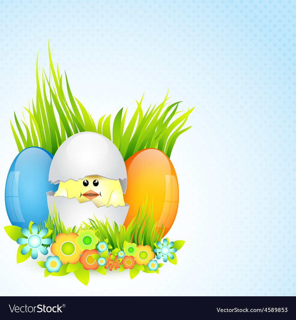 Colorful easter design vector | Price: 1 Credit (USD $1)