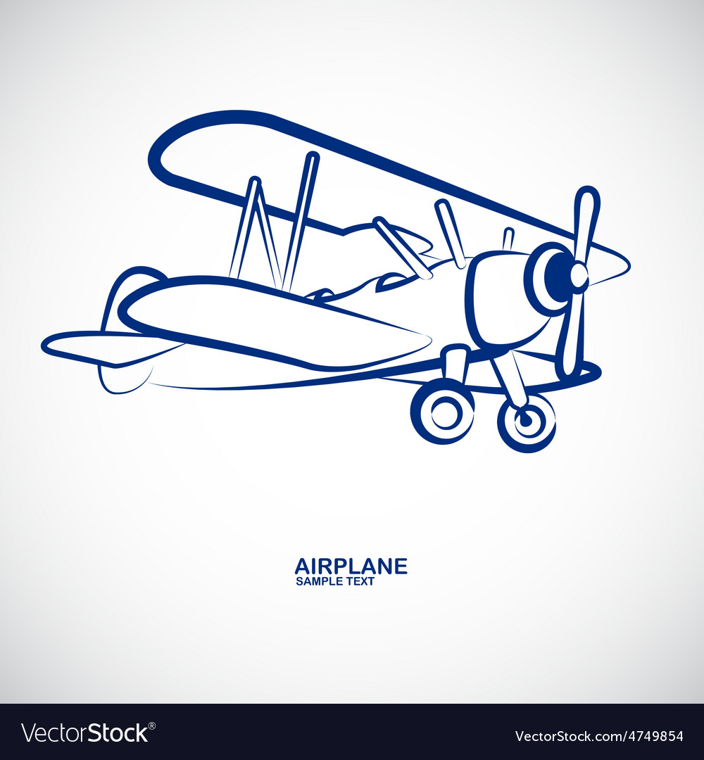 Airplane 8 vector | Price: 1 Credit (USD $1)