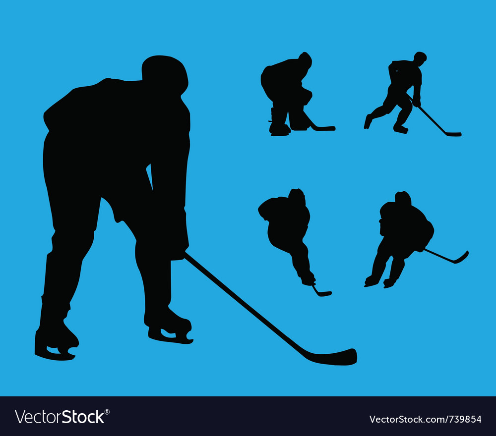 Hockey collection vector | Price: 1 Credit (USD $1)