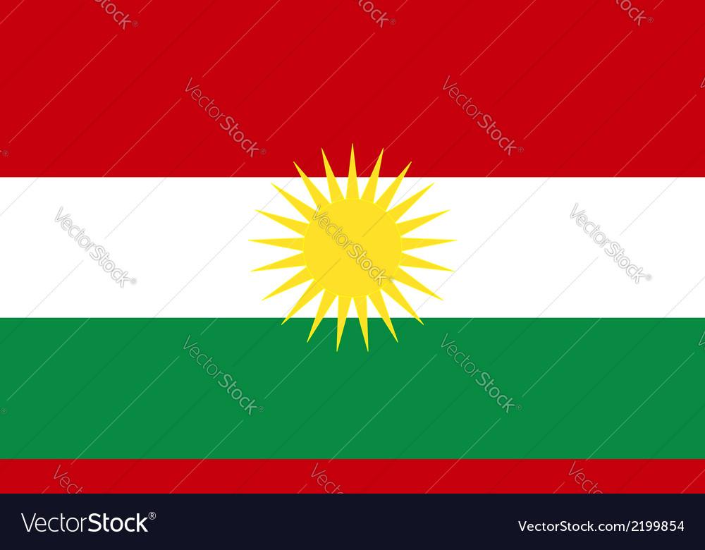 Kurdistan vector | Price: 1 Credit (USD $1)