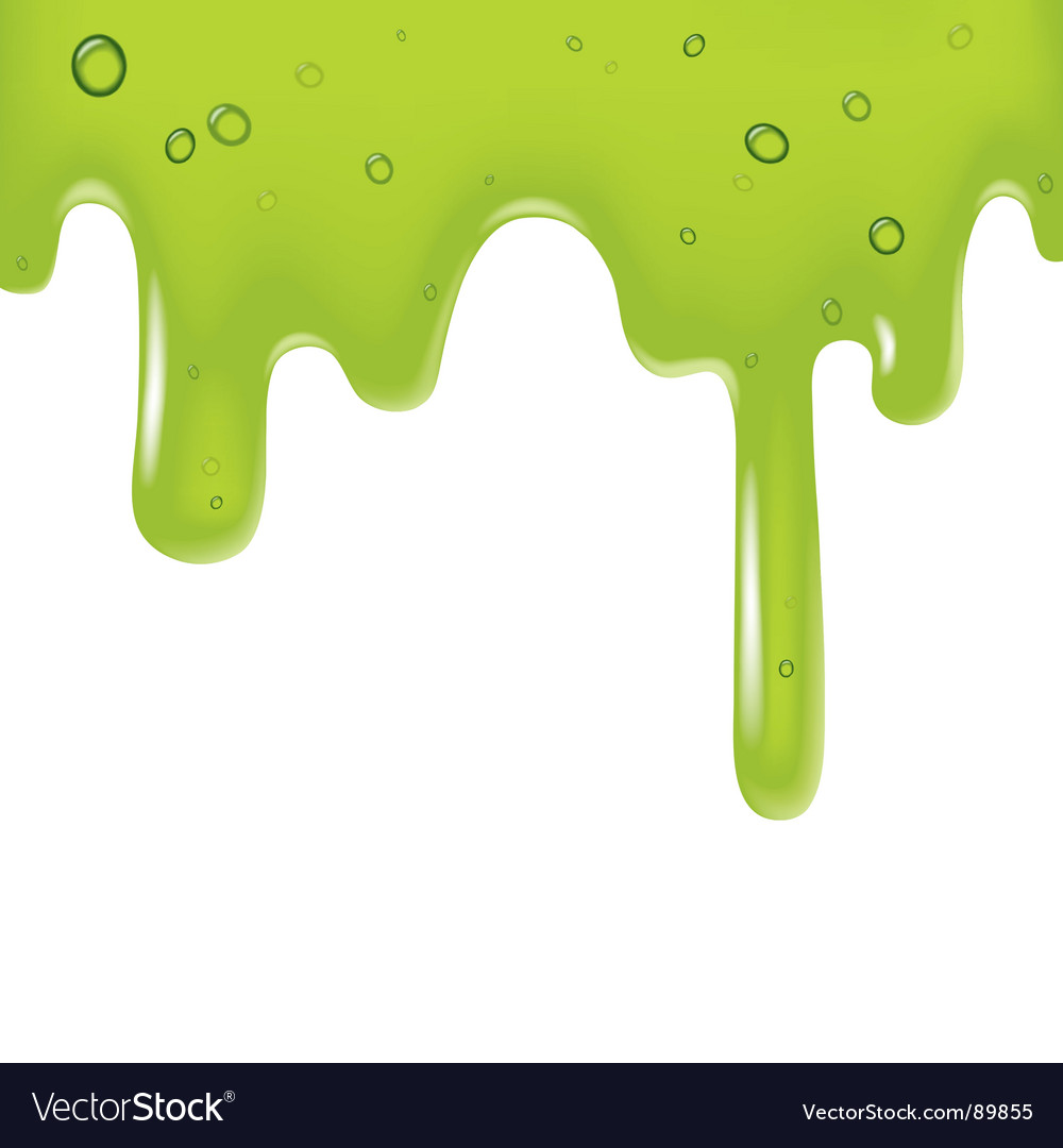 Green viscous liquid vector | Price: 1 Credit (USD $1)