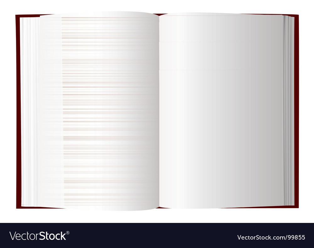 Open book vector | Price: 1 Credit (USD $1)