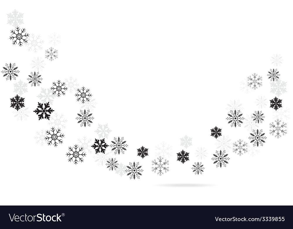 Snow dance vector | Price: 1 Credit (USD $1)