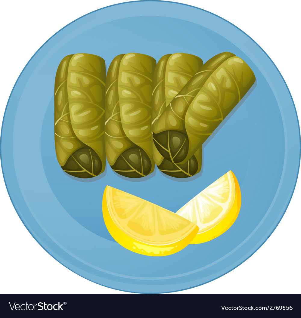 A plate with healthy foods vector | Price: 1 Credit (USD $1)