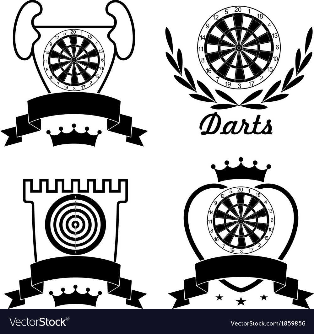 Darts vector | Price: 1 Credit (USD $1)