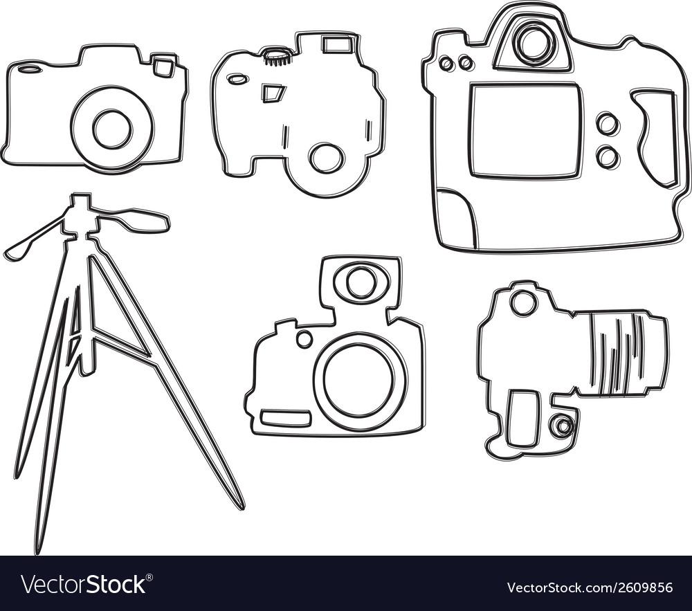 Film and cinema elements vector | Price: 1 Credit (USD $1)