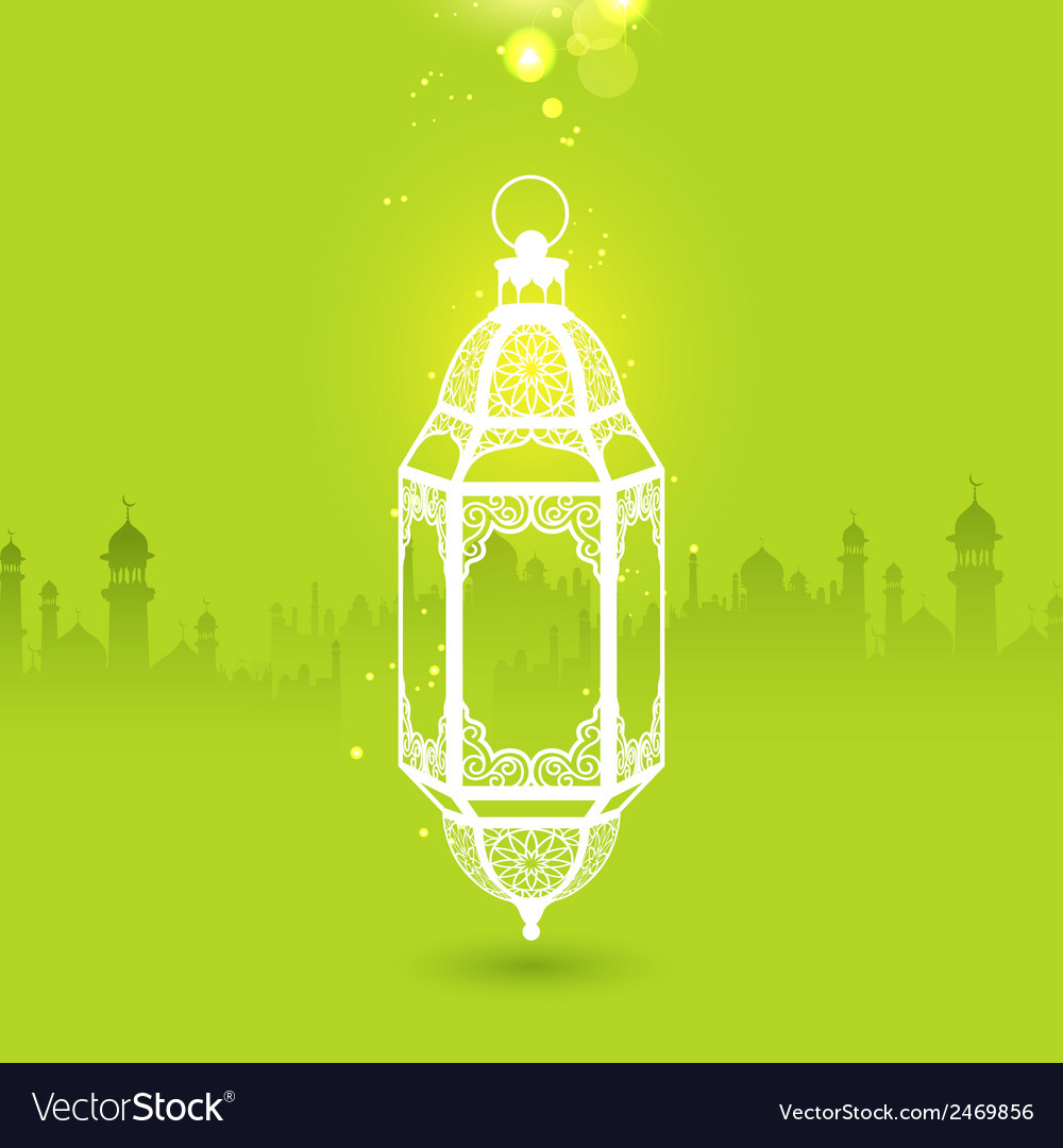 Ramadan kareem generous ramadan greeting with vector | Price: 1 Credit (USD $1)