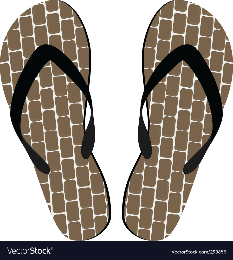 Sandals vector | Price: 1 Credit (USD $1)