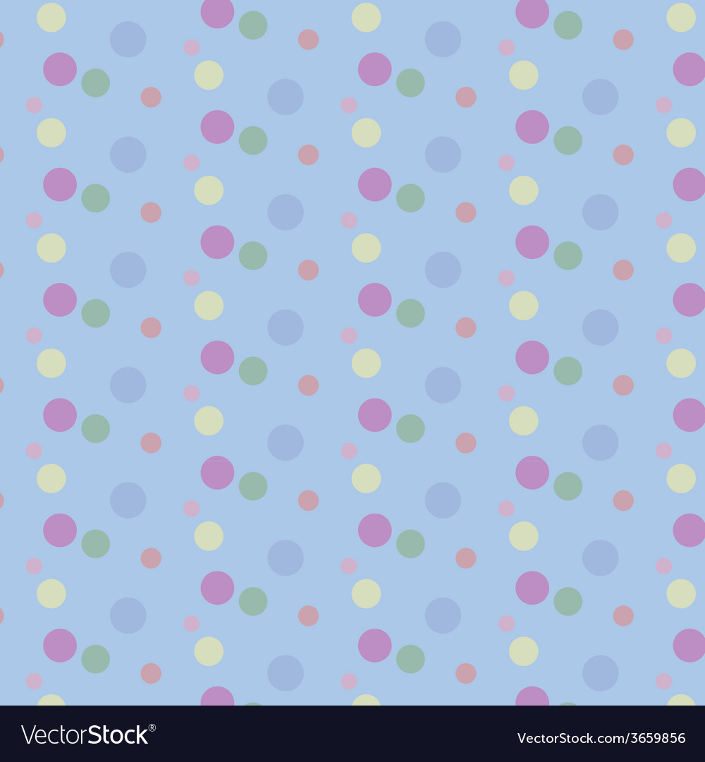 Seamless pattern with circles vector | Price: 1 Credit (USD $1)