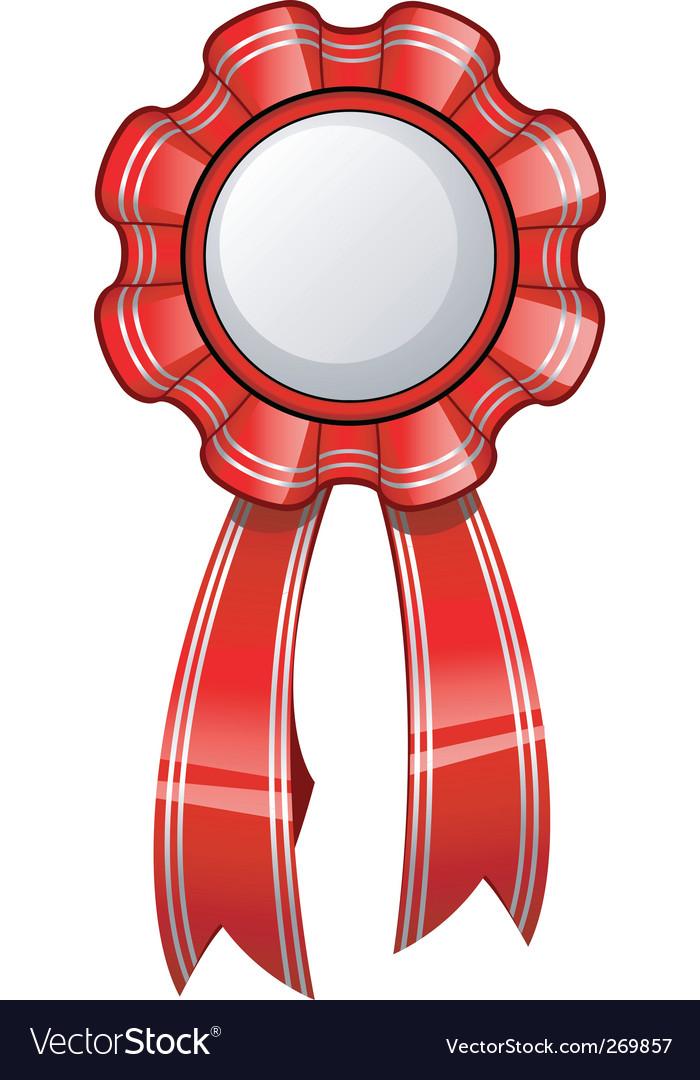 Glossy ribbon vector | Price: 3 Credit (USD $3)