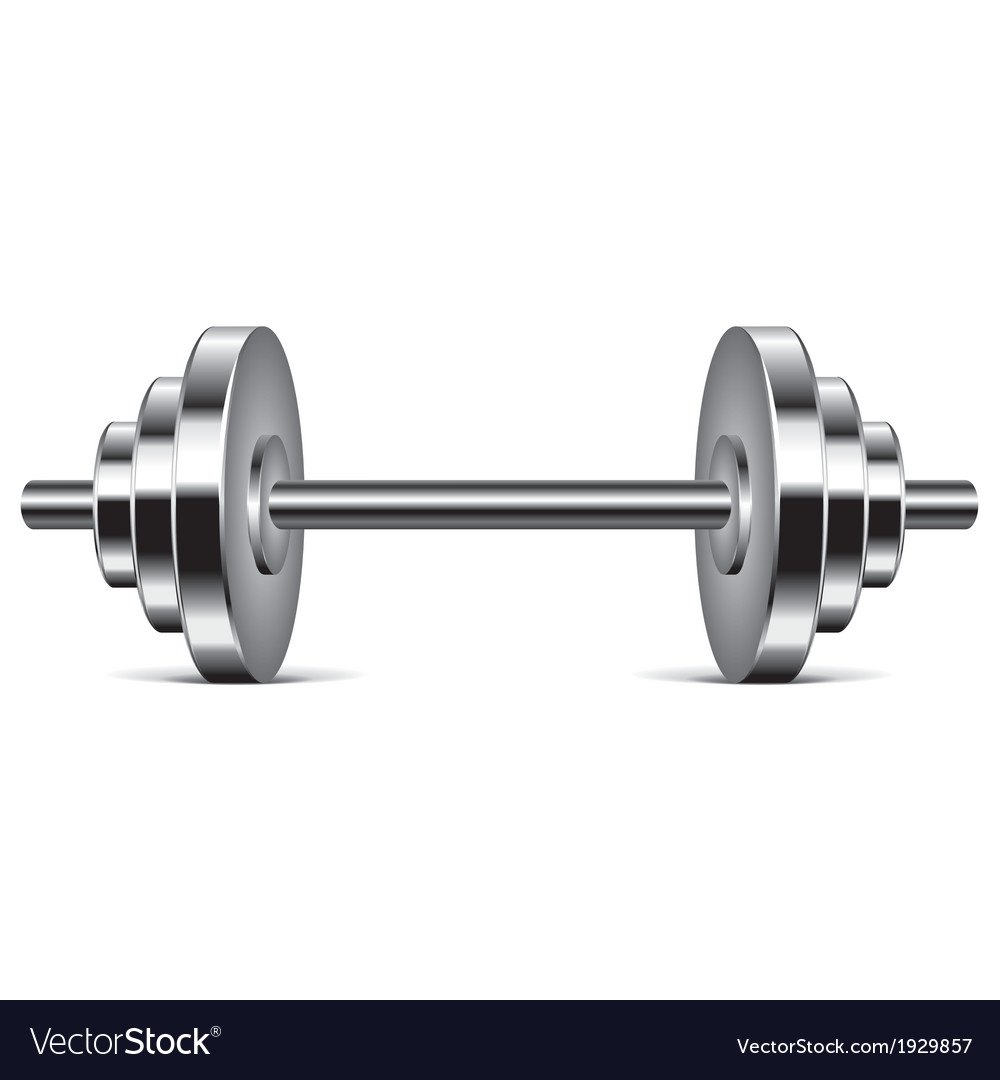 Object dumbbell vector | Price: 1 Credit (USD $1)