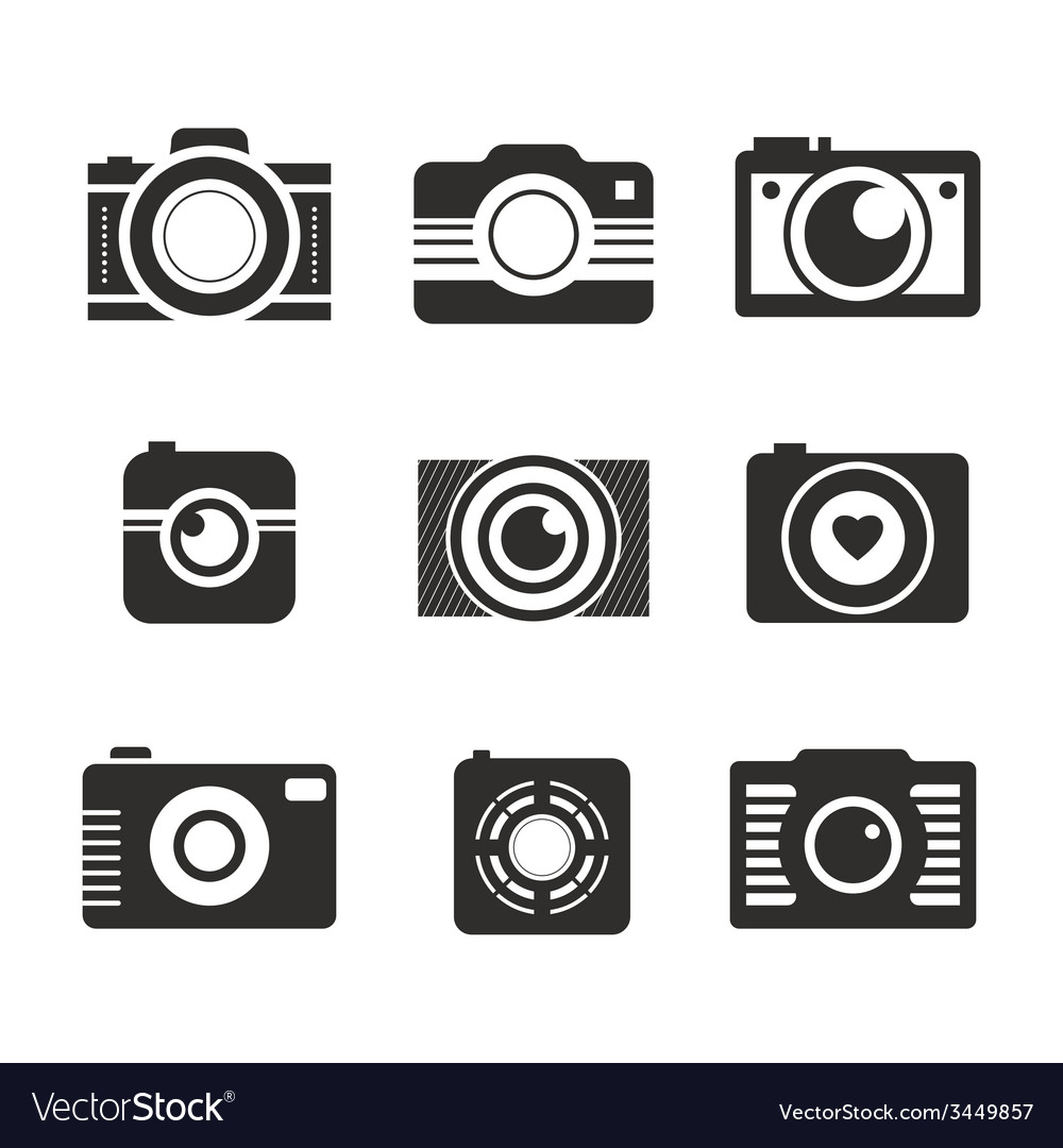 Photocamera collection vector | Price: 1 Credit (USD $1)