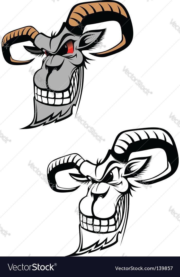 Wild ram vector | Price: 1 Credit (USD $1)