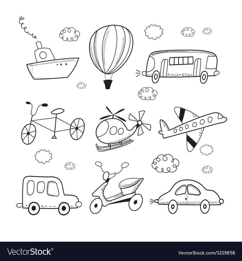 Different transport vector | Price: 1 Credit (USD $1)