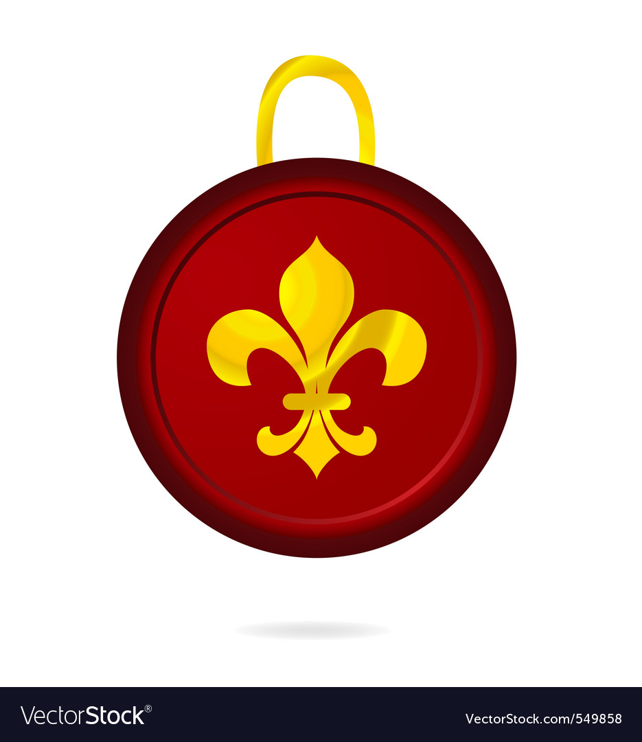 Heraldry tag vector | Price: 1 Credit (USD $1)