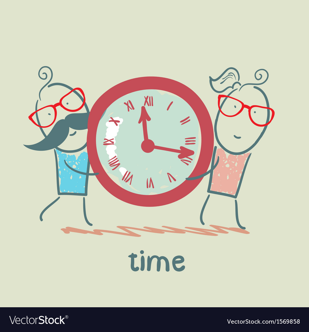 People wear watches vector | Price: 1 Credit (USD $1)
