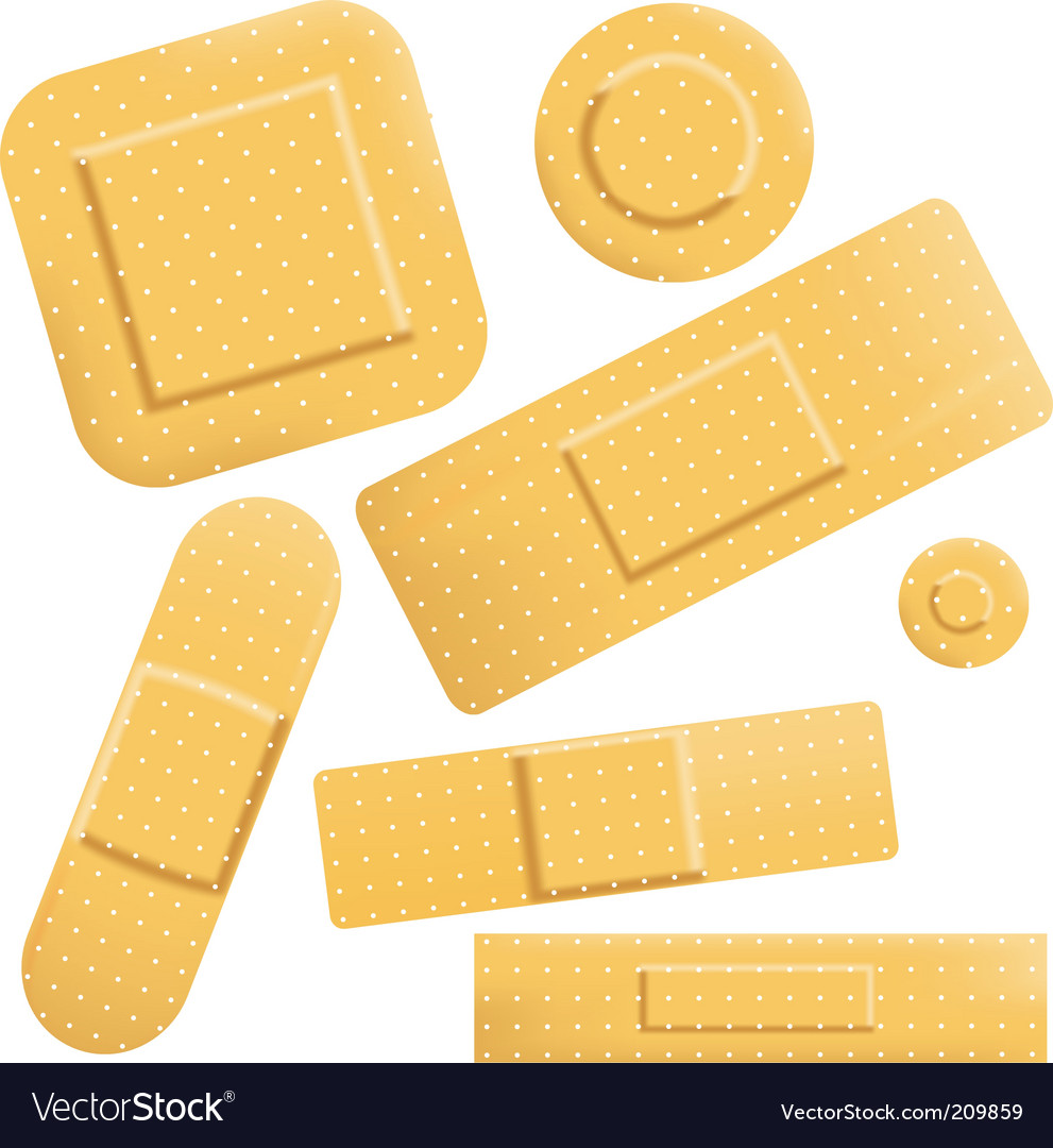 Plasters icon vector | Price: 1 Credit (USD $1)
