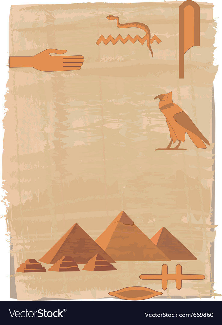 Egyptian elements vector | Price: 1 Credit (USD $1)
