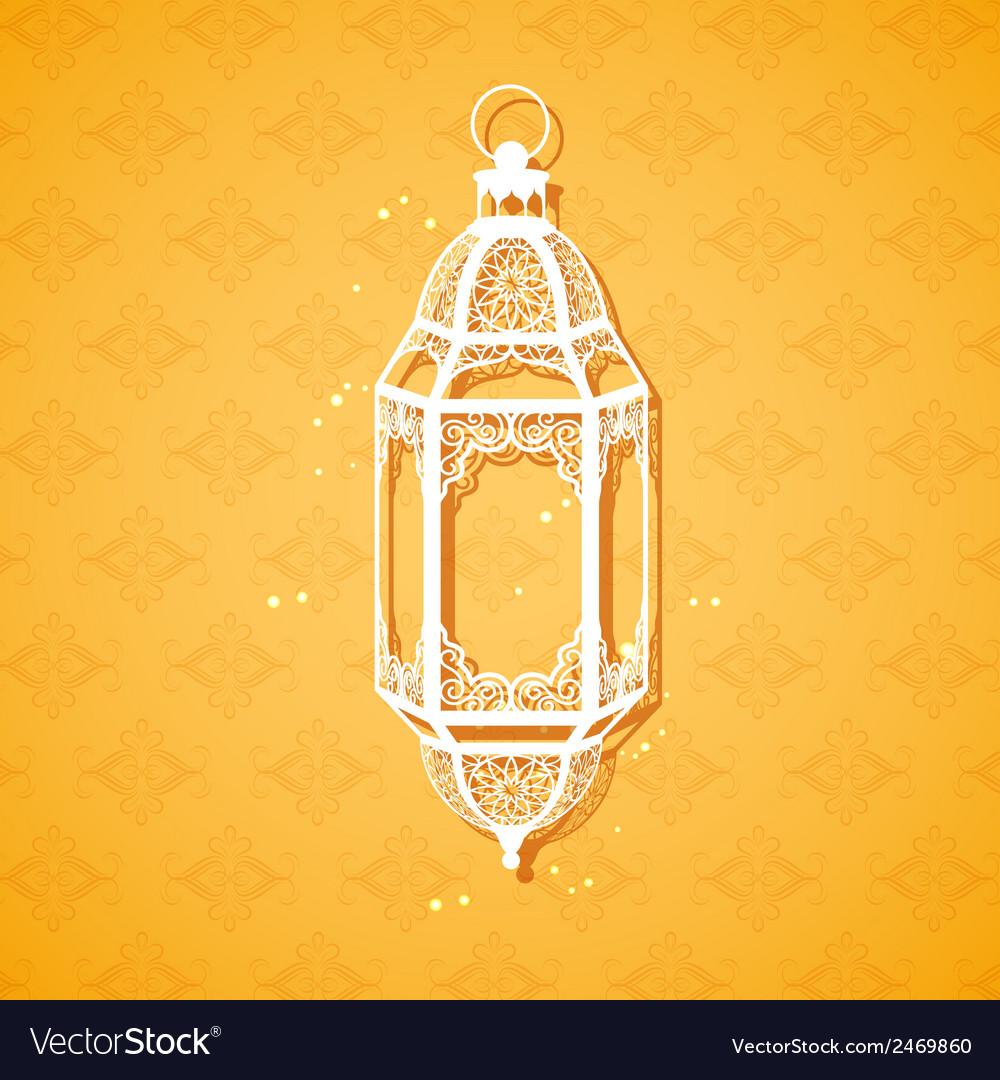 Ramadan kareem generous ramadan greeting with vector | Price: 1 Credit (USD $1)