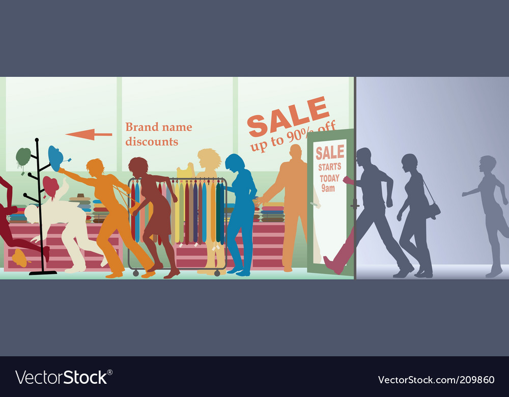 Sale opens vector | Price: 1 Credit (USD $1)