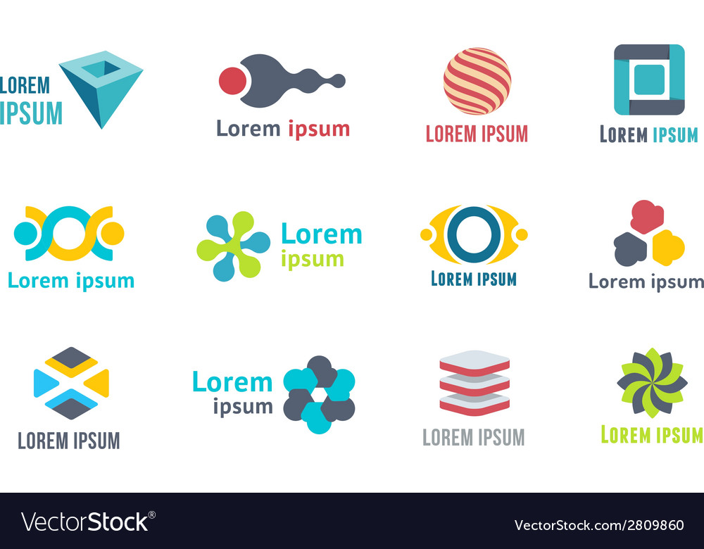 Templates and elements for logo vector | Price: 1 Credit (USD $1)