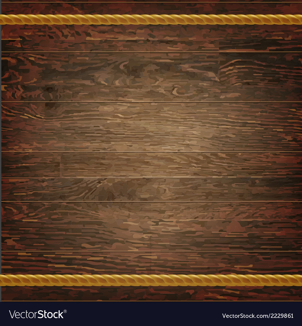 Dark wood texture with rope vector | Price: 1 Credit (USD $1)