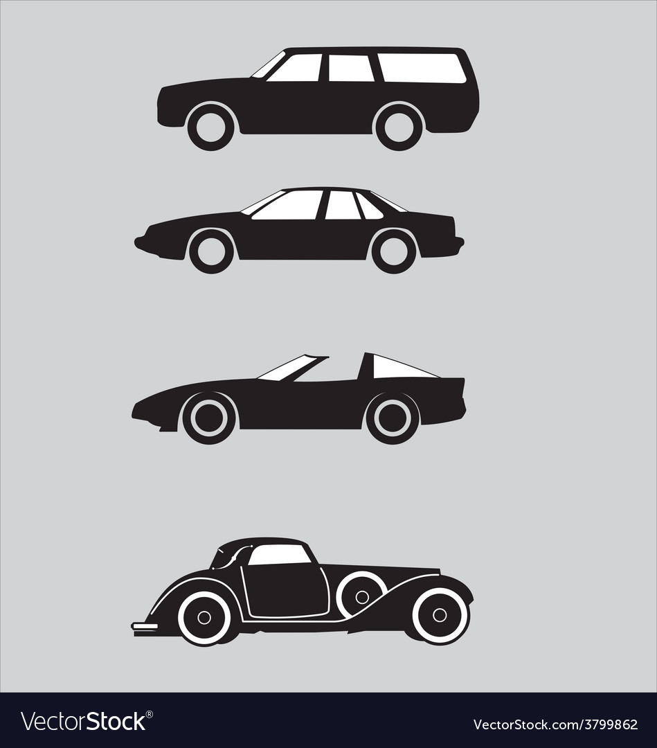 Car vehicle automobile motorcar vector | Price: 1 Credit (USD $1)