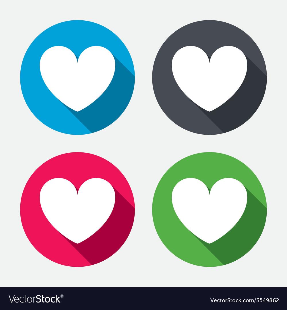 Heart sign icon love symbol vector   Price: 1 Credit (USD $1)